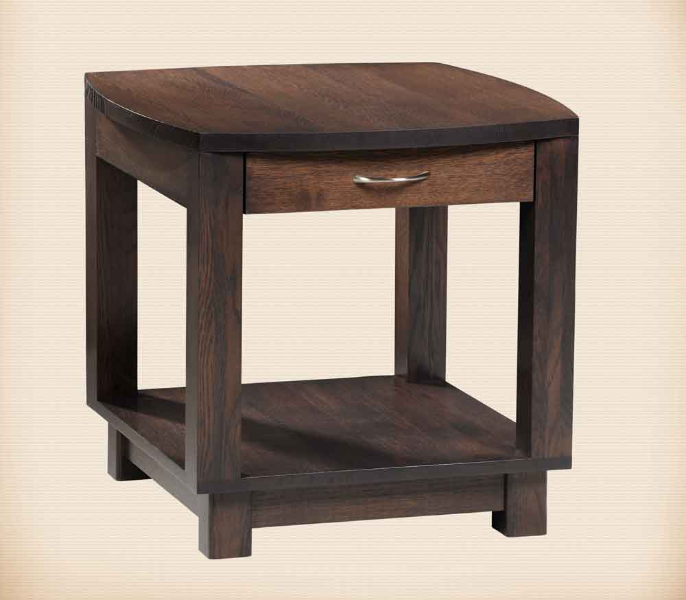 Urban Bow Top Collection End Table