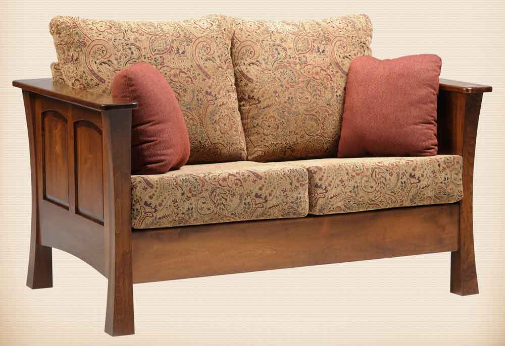 Woodbury Seating Collection Loveseat