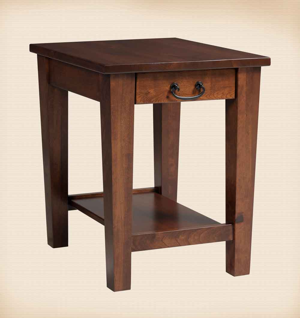Urban Shaker Collection End Table