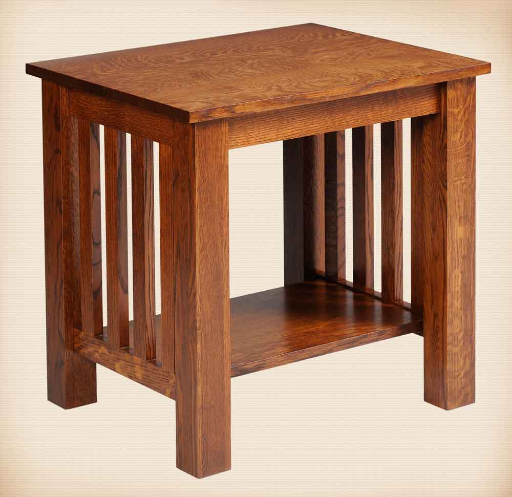Mission Collection End Table