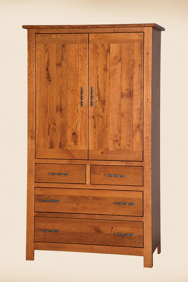 Junetta 4-Drawer Armoire