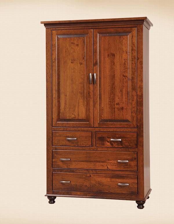 Sunbury 4-Drawer Armoire