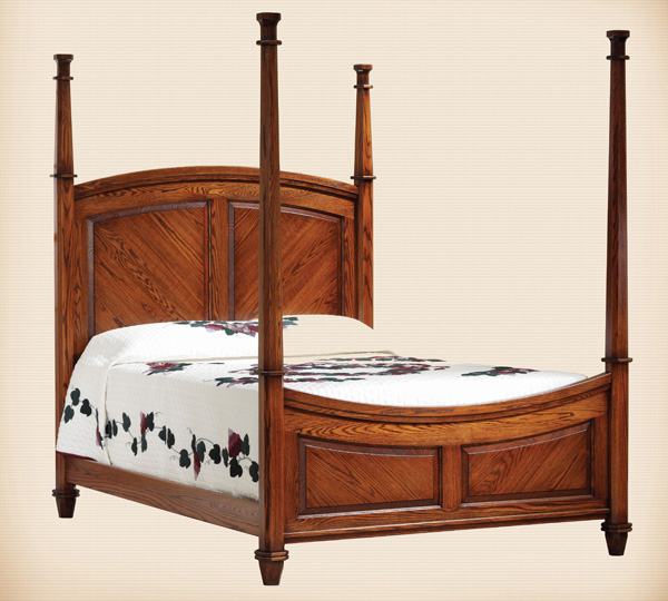 1109 Johnson Tall Post Bed
