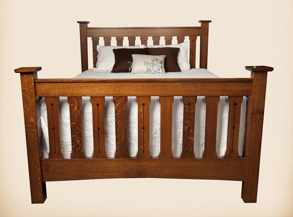 Crafters Mission Slat Bed