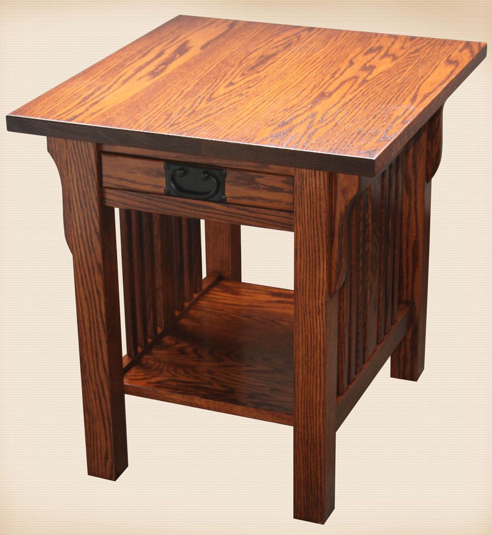 Elliot Mission Collection End Table