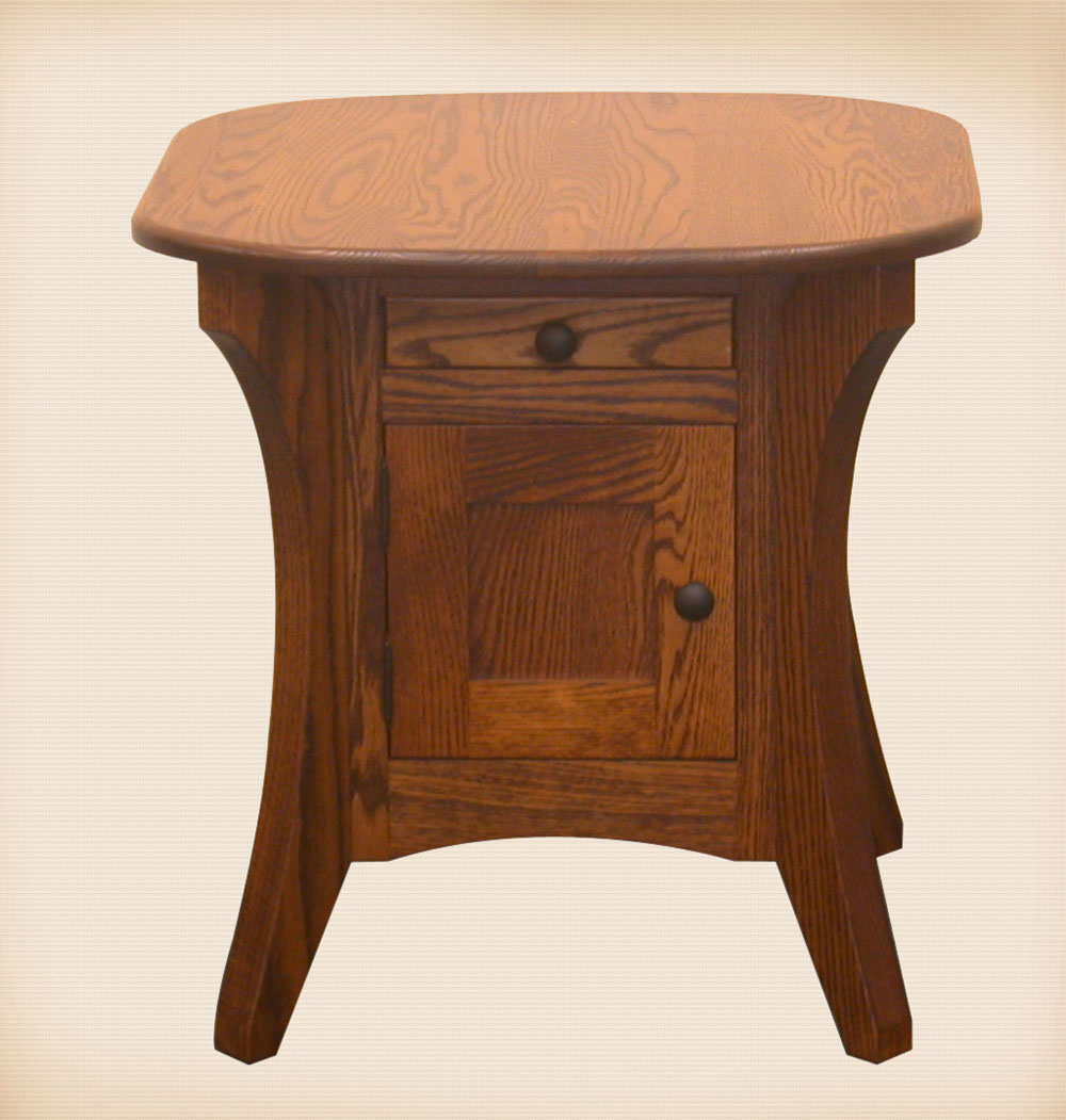 Galveston Enclosed Collection End Table
