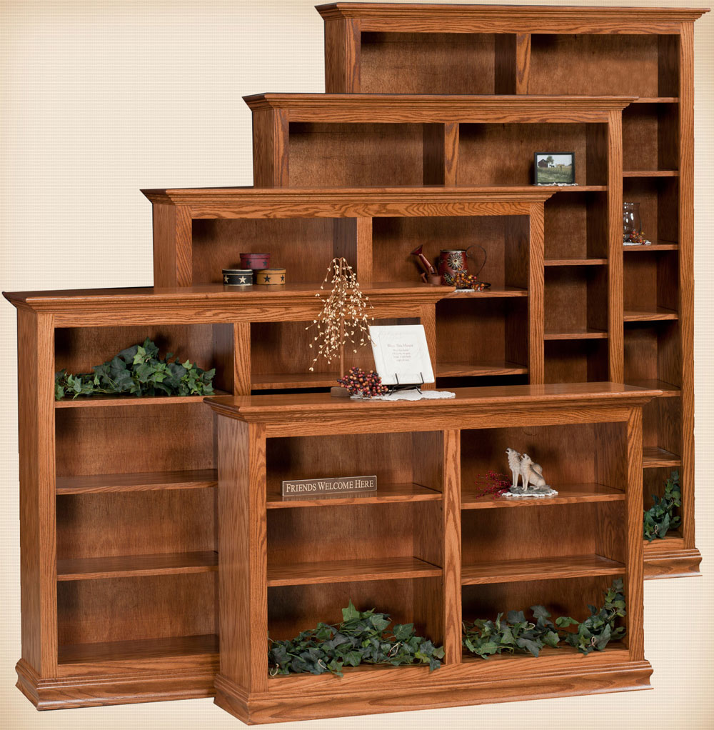 "Traditional Bookcases 48""W"