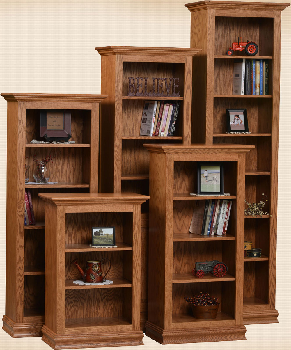 "Traditional Bookcases 24""W"