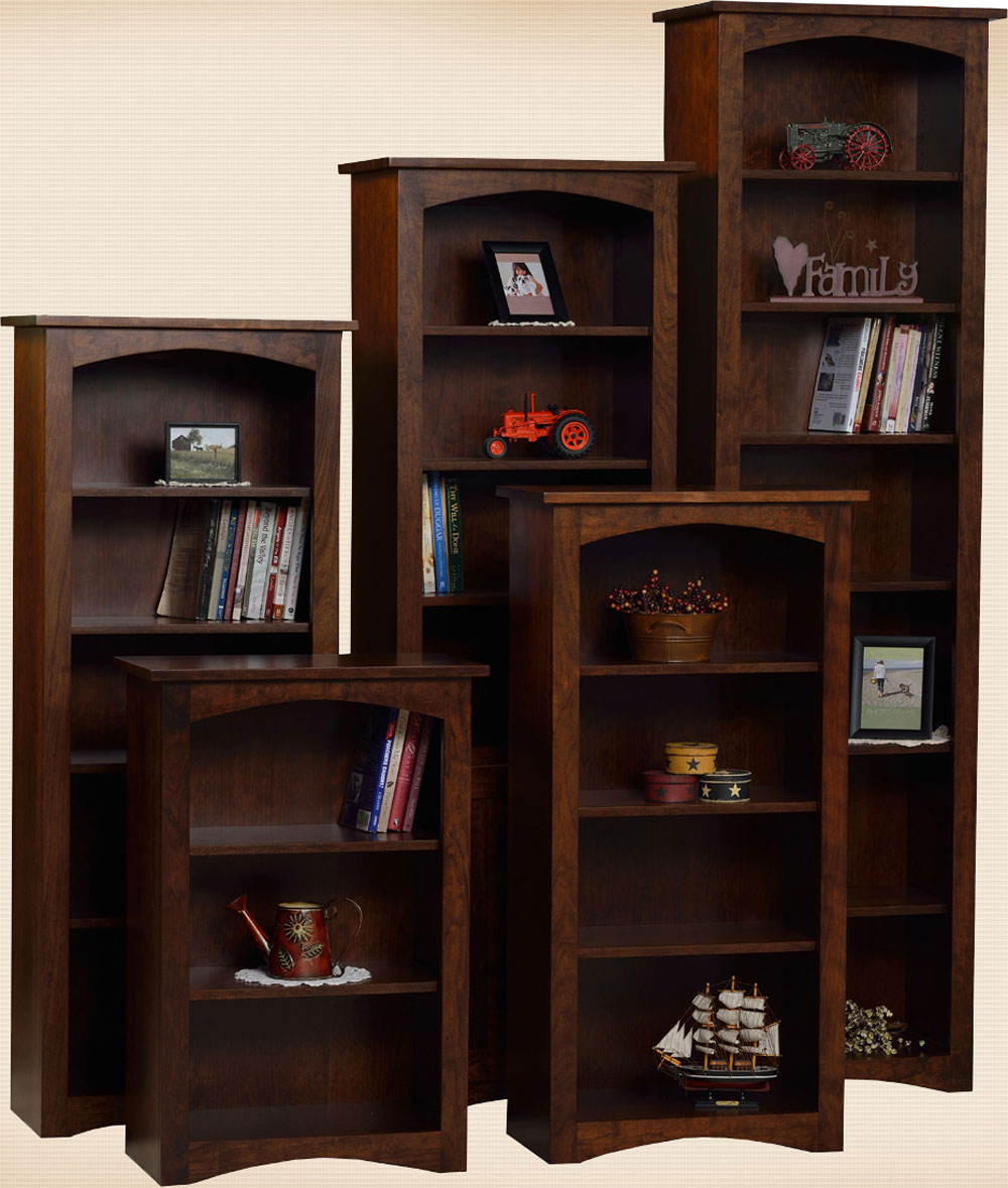 "Shaker Bookcases 24""W"
