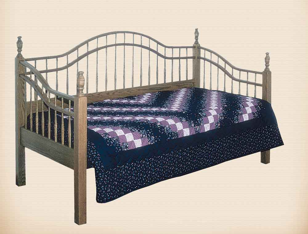Double Bow Day Bed