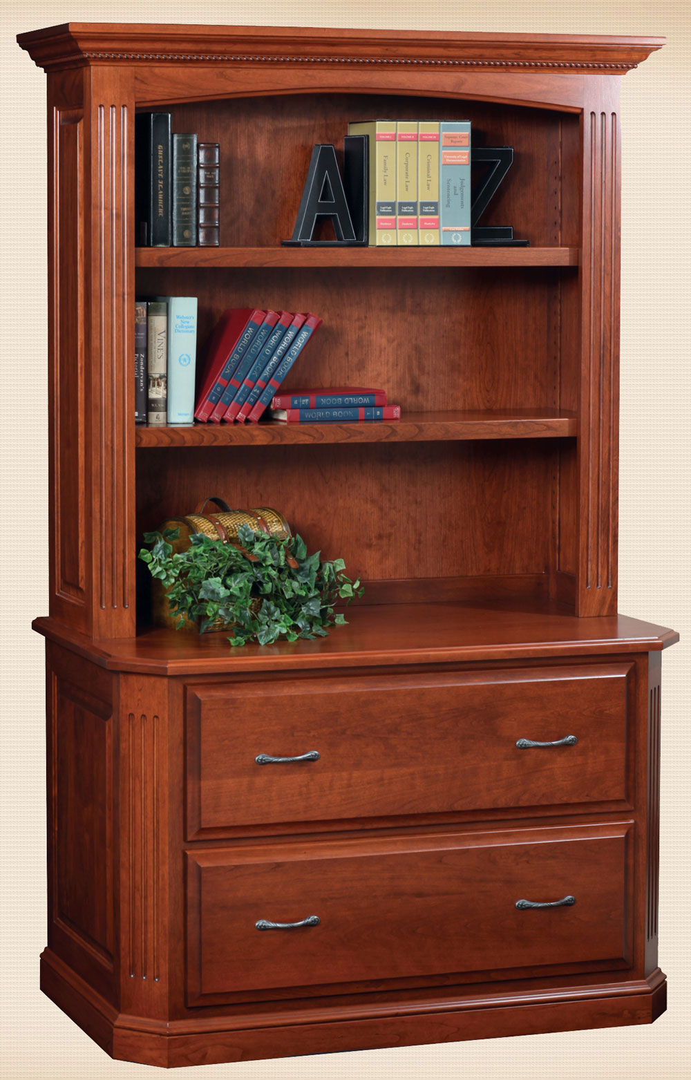 Buckingham Lateral File & Hutch