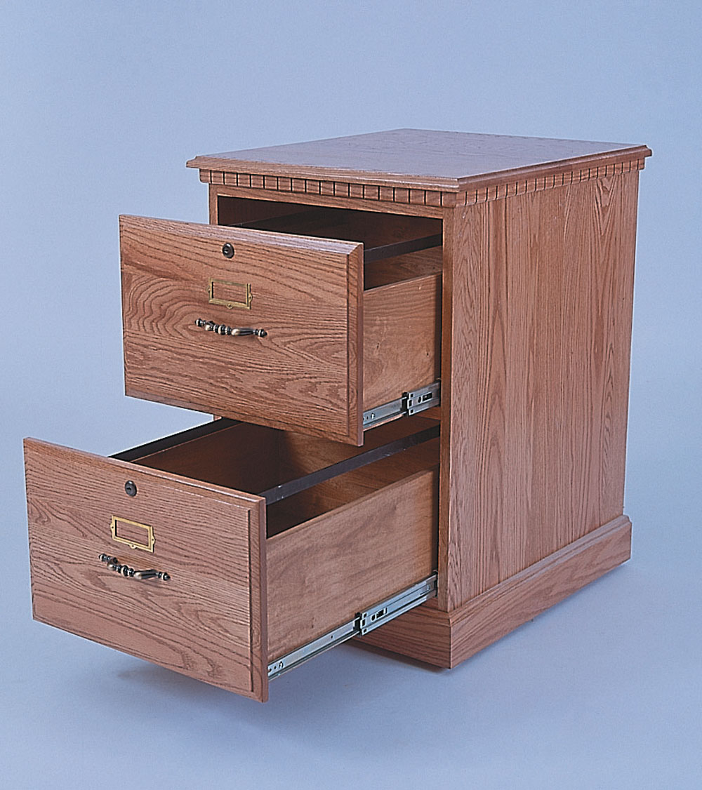 Traditional Style 2 Drawer File Cabinet