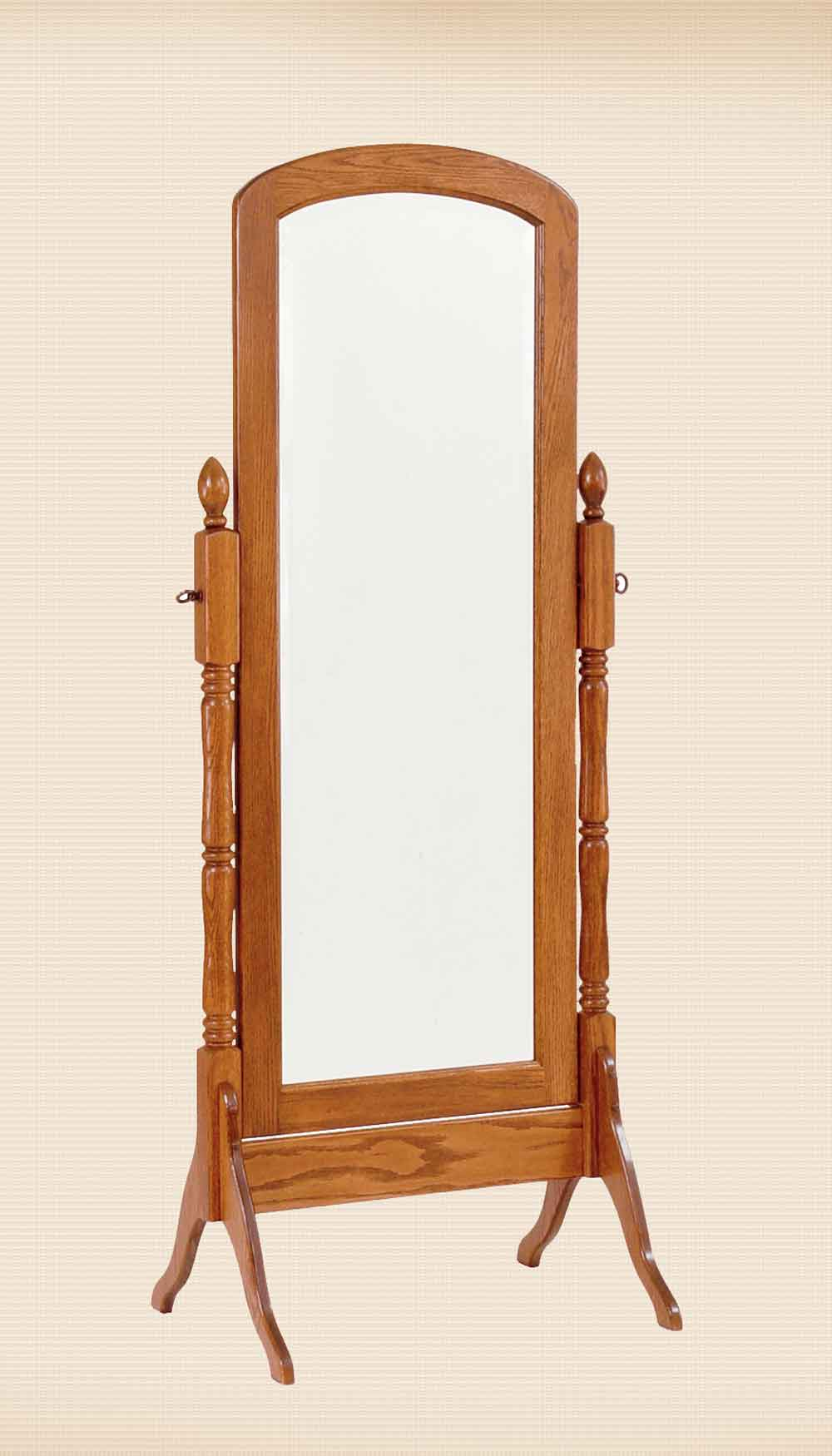 Traditional Style Cheval Mirror