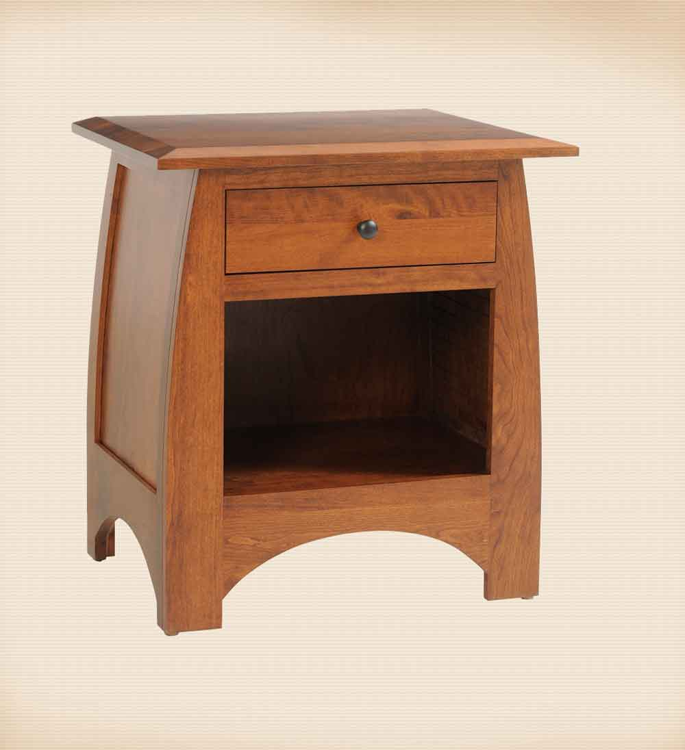 Bordeaux 1 Drawer Night Stand