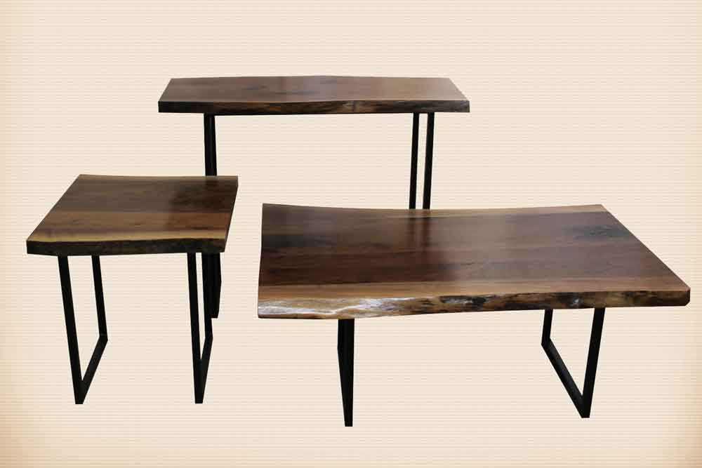 Romance Series Occasional Tables with Rochester Iron Base