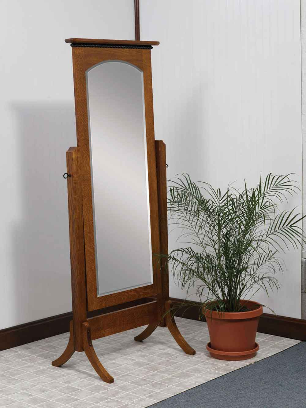 Bunker Hill Cheval Mirror