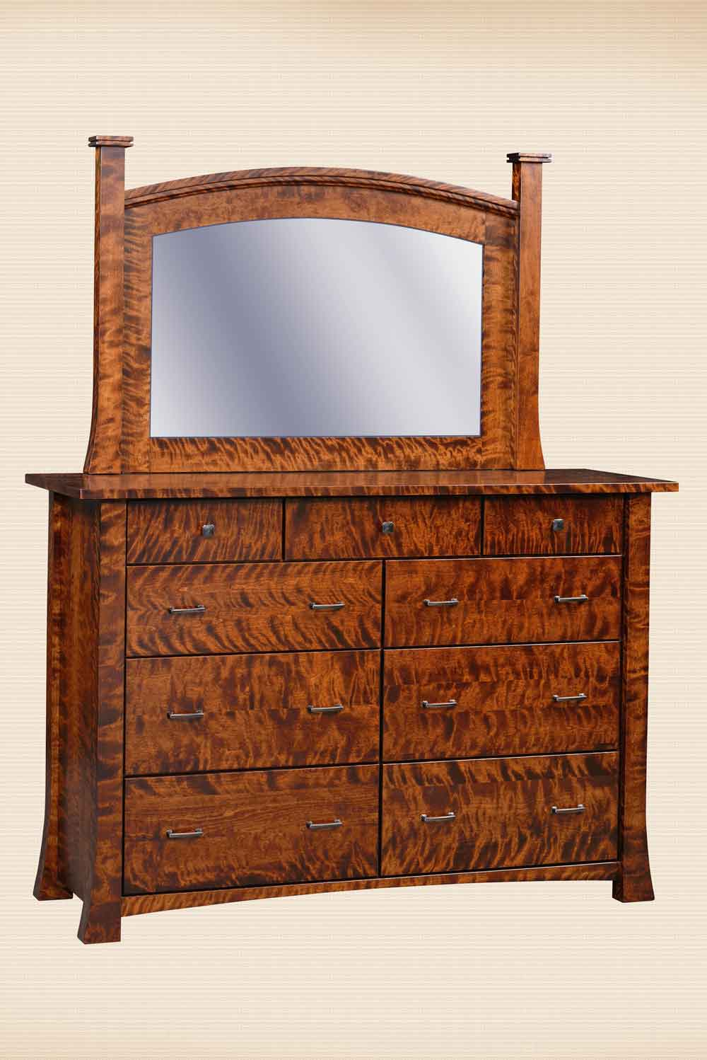 Linmore Dresser and Mirror