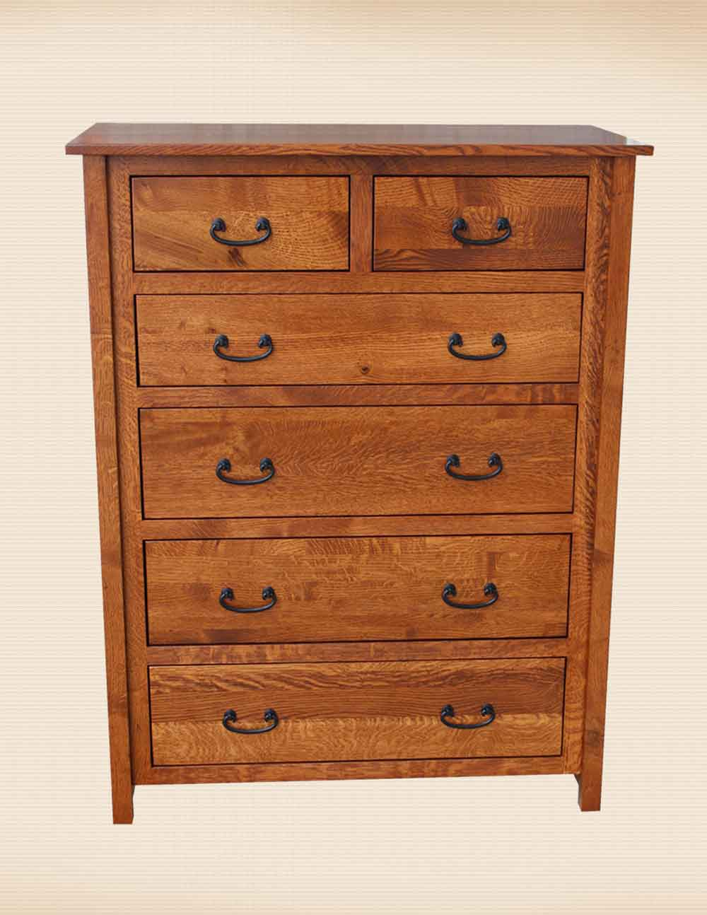 NP Mission 6 Drawer Chest