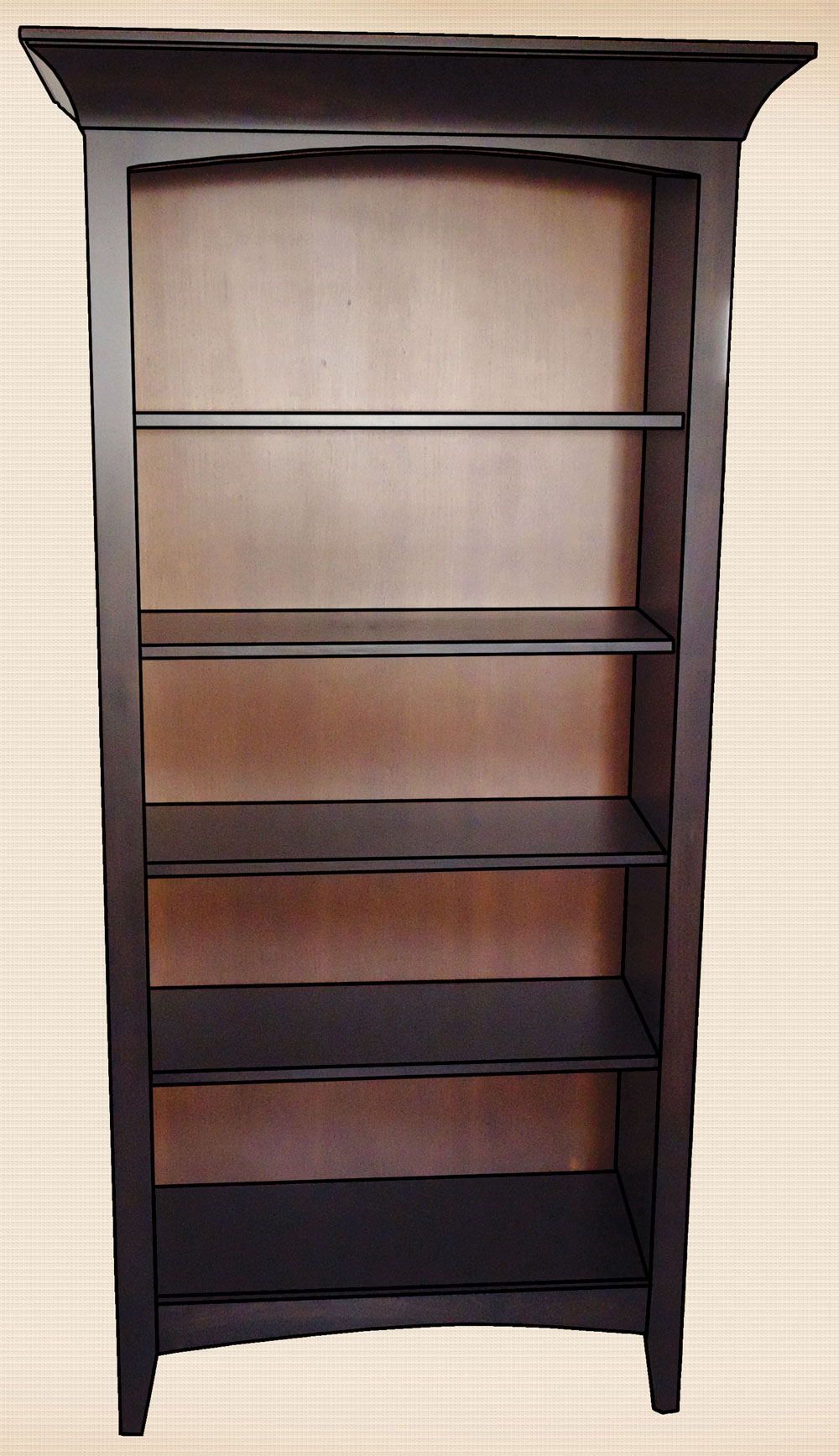 Engelhart Collection Bookcase