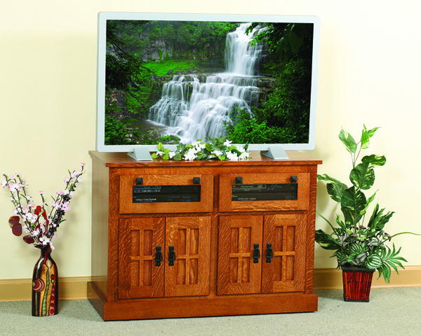 Heirwood Collection Square TV Stand