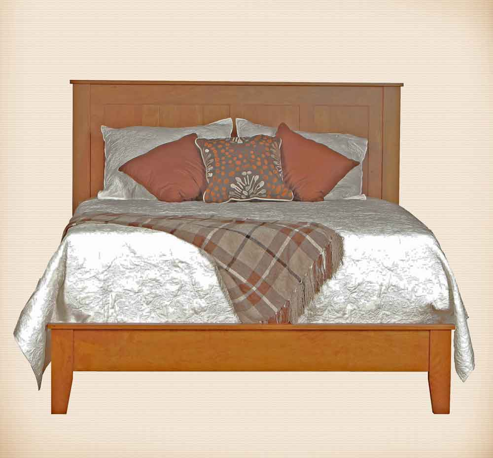 Canterbury Panel Bed