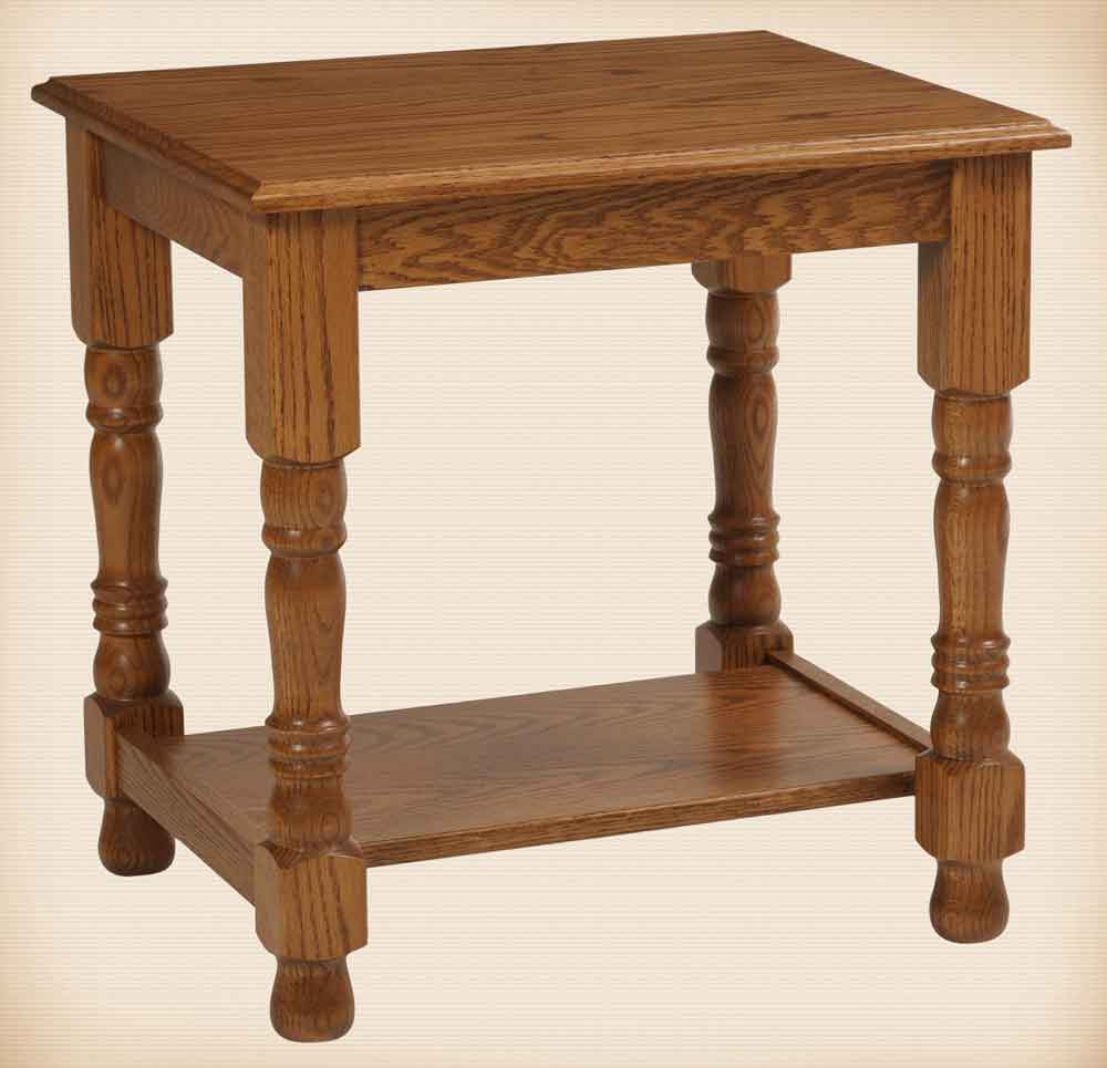Traditional Collection End Table