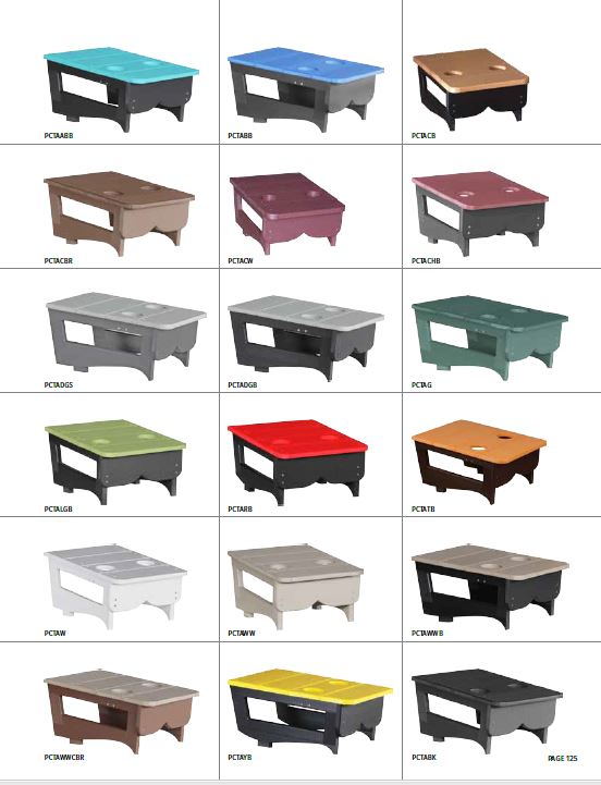 Krestview Center Table Stock Color Chart